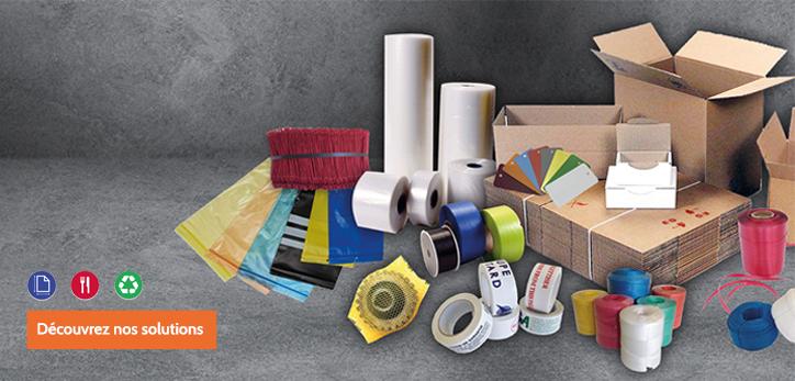 Une large gamme de produits d'emballage !